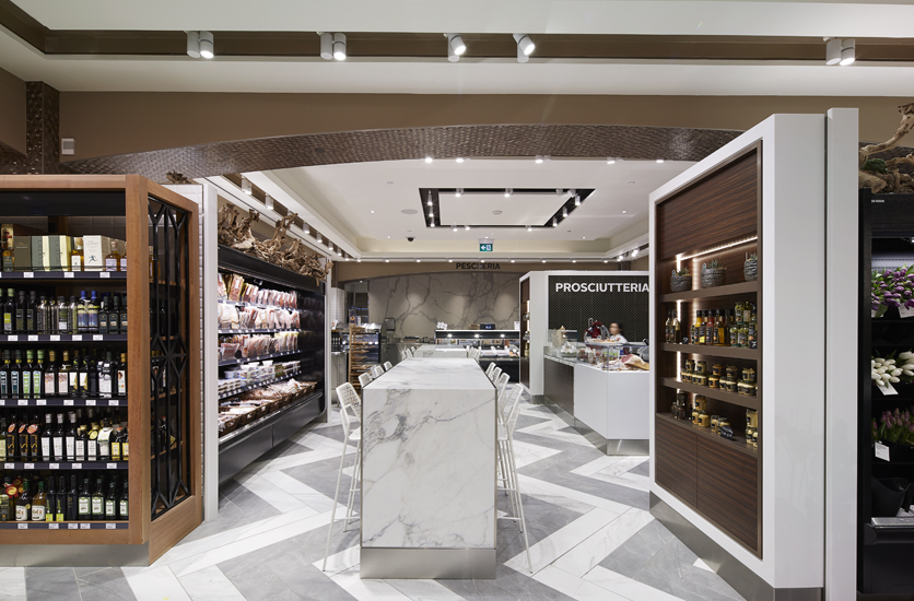 Saks Food Hall by Pusateri's