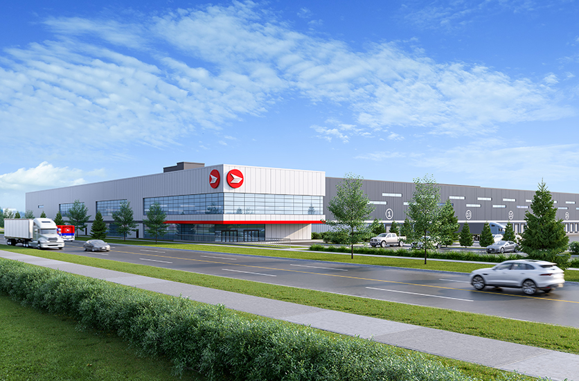 Canada Post – Distribution Centre – East GTA